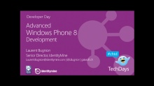 Advanced Windows Phone 8 Development