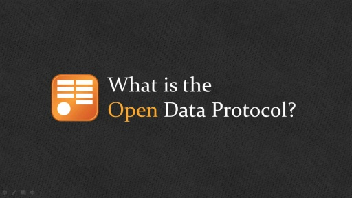 OData: What is the Open Data Protocol?