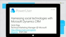 Harnessing social technologies with Microsoft Dynamics CRM