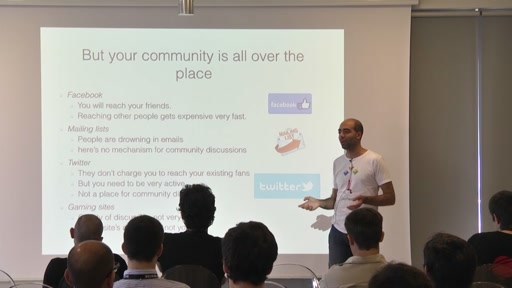 Improving your game through community building and analysis! | Track: Business & Marketing
