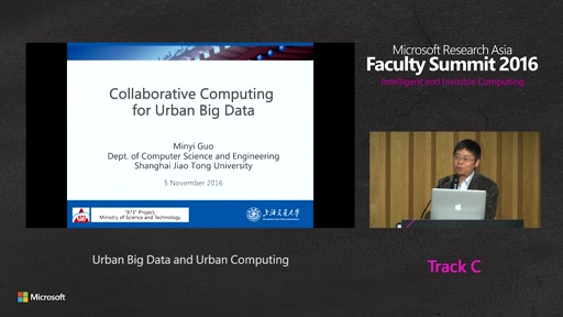 Urban Big Data and Urban Computing