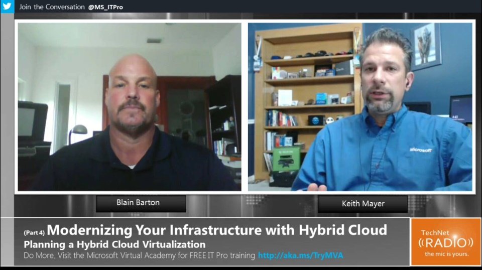 TechNet Radio: (Part 4) Modernizing Your Infrastructure with Hybrid Cloud - Planning Hybrid Cloud Virtualization