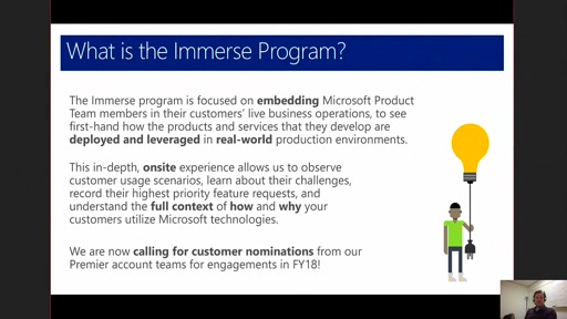 Connecting Customers with Microsoft Product Teams