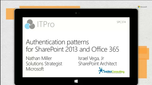 Authentication patterns for SharePoint 2013 and Office 365
