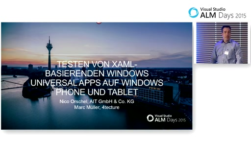 Testen von XAML-basierenden Windows Universal Apps auf Windows Phone und Tablet