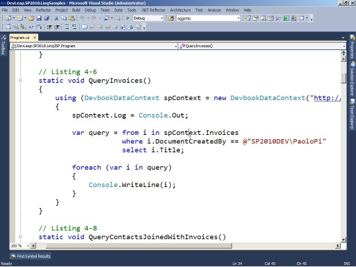 SharePoint 2010: LINQ to SharePoint