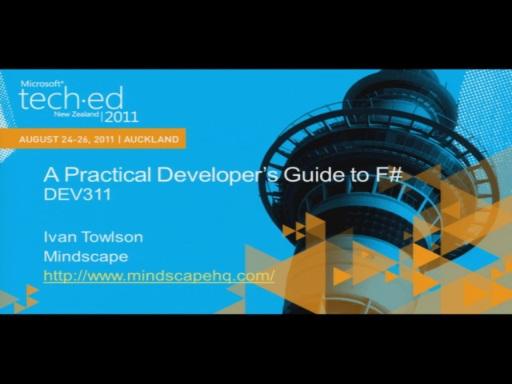 A Practical Developer's Introduction to F#