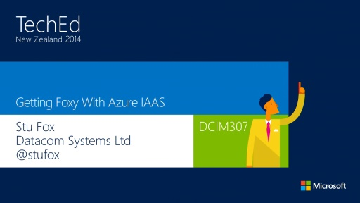 Getting Foxy with Azure IaaS