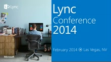 Taking advantage of Persistent Chat in Lync