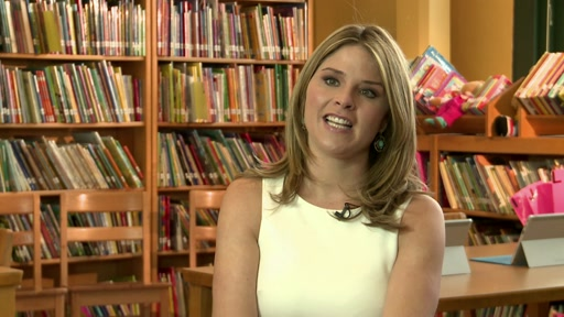 Bing in the Classroom w/ Jenna Bush Hager b-roll and sound bites