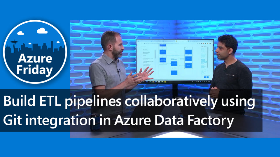 Build ETL pipelines collaboratively using Git integration in Azure Data Factory