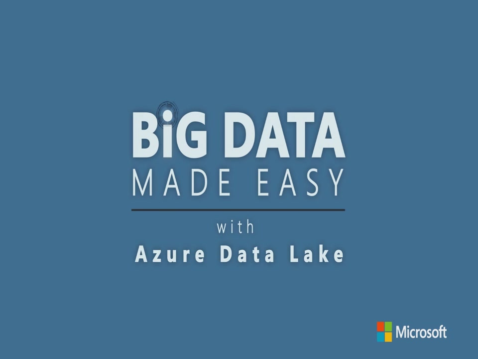 Introduction to Azure Data Lake Store