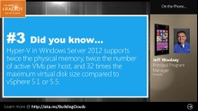 TechNet Radio: (Part 2) Virtualization: Did You Know...