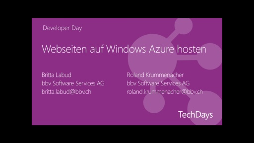 Webseiten auf Windows Azure hosten