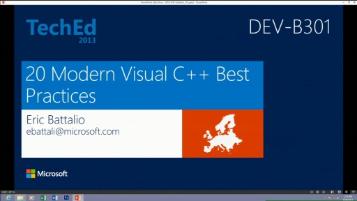 20 Modern Visual C++ Best Practices