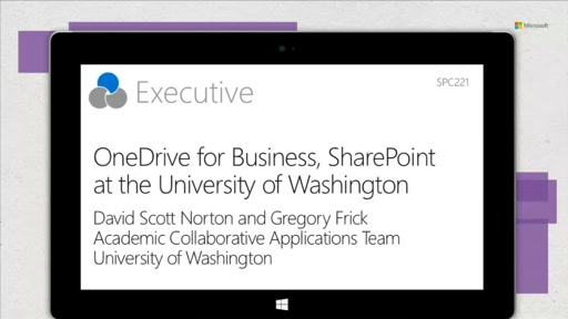 UW: students and teachers store, sync and share - OneDrive for Business in EDU