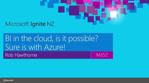 BI in the cloud, is it possible? Sure is with Azure!