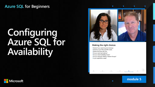 Configuring Azure SQL for Availability (54 of 61)