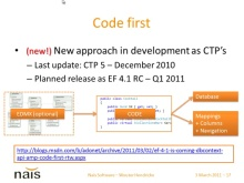 Entity Framework - Code First CTP5 with Wouter Hendrickx