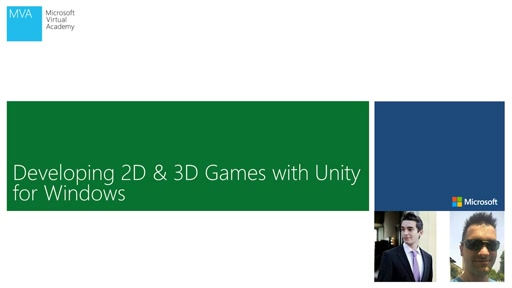 03 - MVA - Developing 2D & 3D Games with Unity3D for Windows - New Unity UI Tools