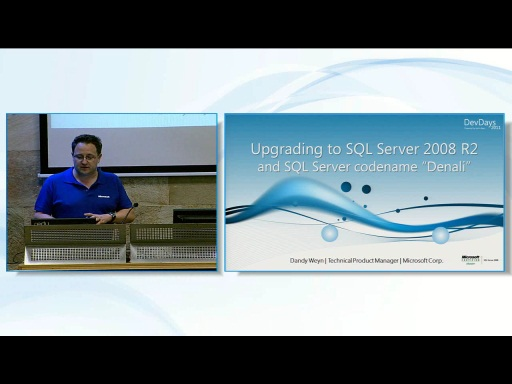 Upgrading to SQL Server 2008 R2 and SQL Server Denali