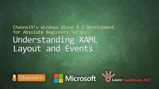 Part 4 - Understanding XAML Layout and Events