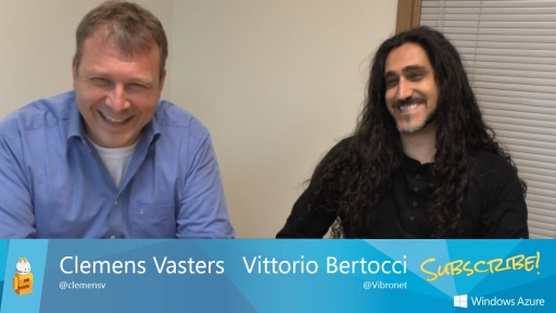 Vittorio Bertocci explains Windows Azure Active Directory