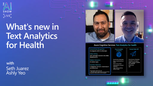 What's new in Text Analytics for Health