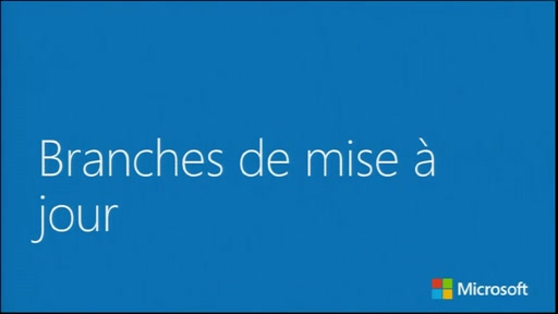 Windows 10 éditions et branches - Branches de mise à jour de Windows 10