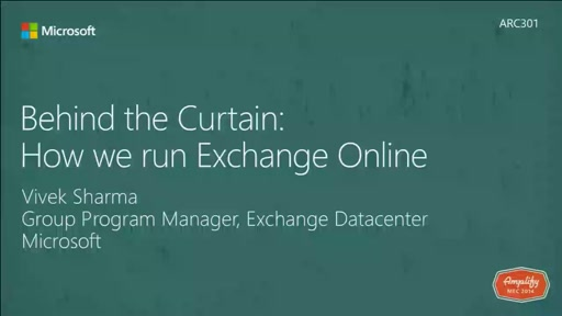 Behind the curtain: How we run Exchange Online