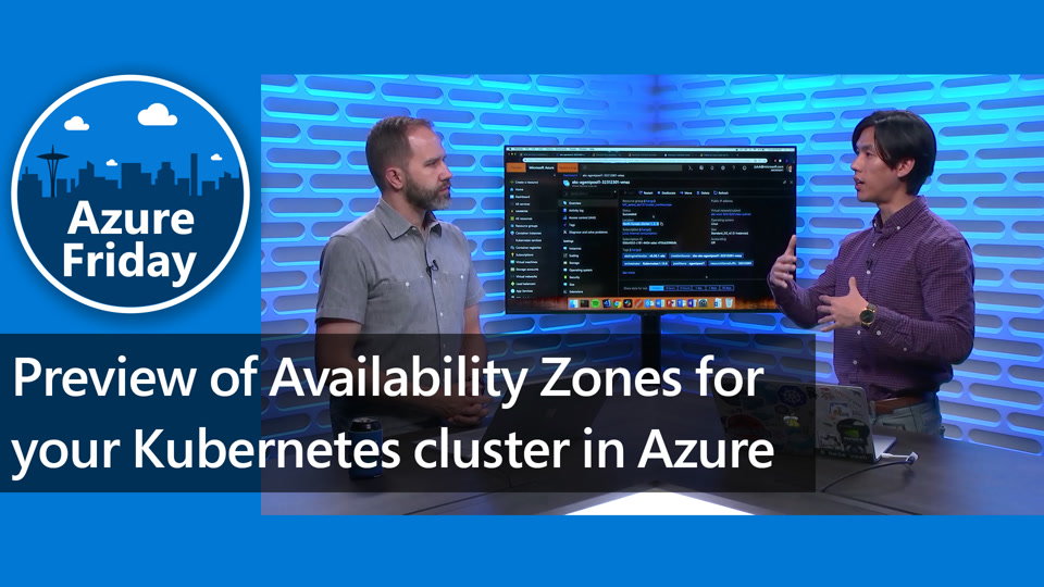 Preview of Availability Zones for your Kubernetes cluster in Azure