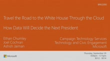 Travel the road to the White House through the cloud: how data will decide the next President