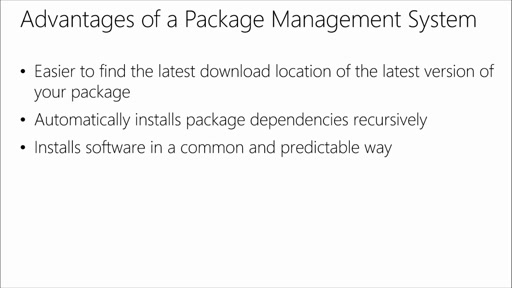 Package Management and Workflow Automation: (01) Machine Package Managers