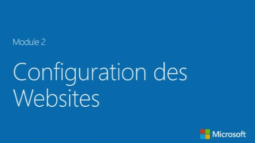 Configuration des Websites