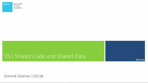 05| Shared Code und Shared Data