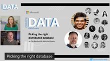Picking the Right Distributed Database