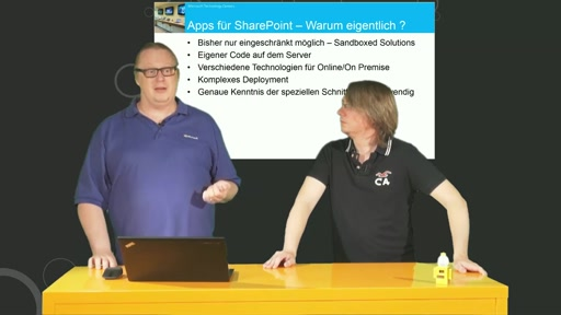 Episode 18 - Neues für Sharepoint Developer