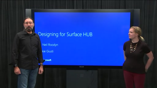 Design for Surface Hub