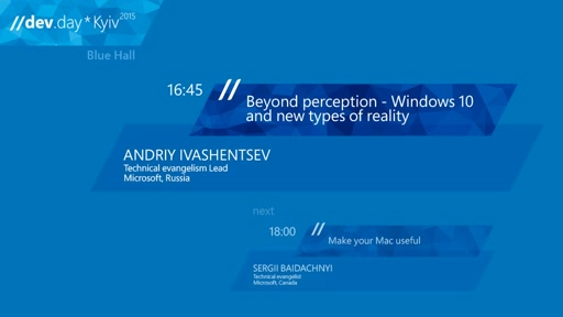 BEYOND PERCEPTION - WINDOWS 10 AND NEW TYPES OF REALITY