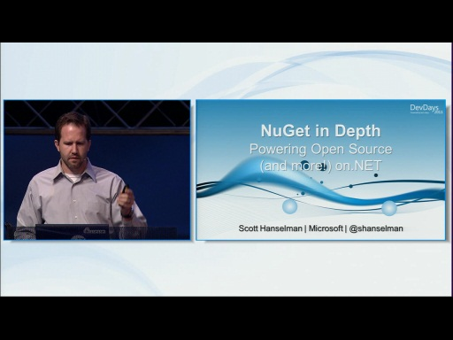 NuGet In Depth:  Empowering Open Source on the .NET Platform