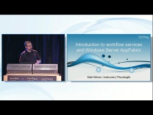 Intro to the Workflow Services and Windows Server AppFabric