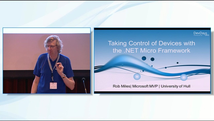 Taking Control of your World with the .NET Micro Framework