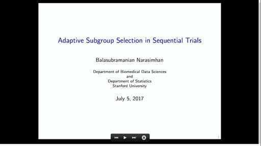 Adaptive Subgroup Selection in Sequential Trials