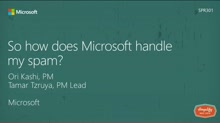 So how does Microsoft handle my spam?