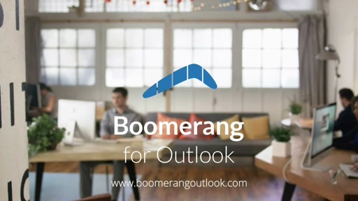 my app in 60 seconds: Boomerang for Outlook