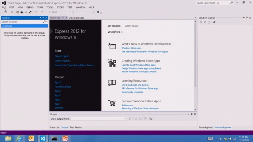 Tooling for Windows Store apps: Visual Studio and Blend