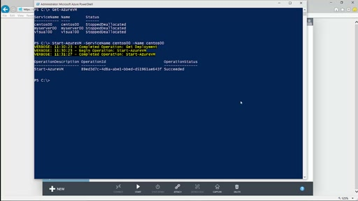 Módulo IV - Fundamentos de Azure Powershell - Automation Demo