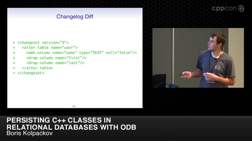 Persisting C++ Classes in Relational Databases with ODB