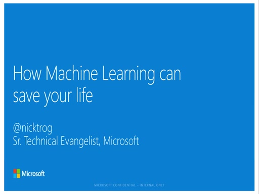 How machine learning can save your life! (@PhPBenelux Event)