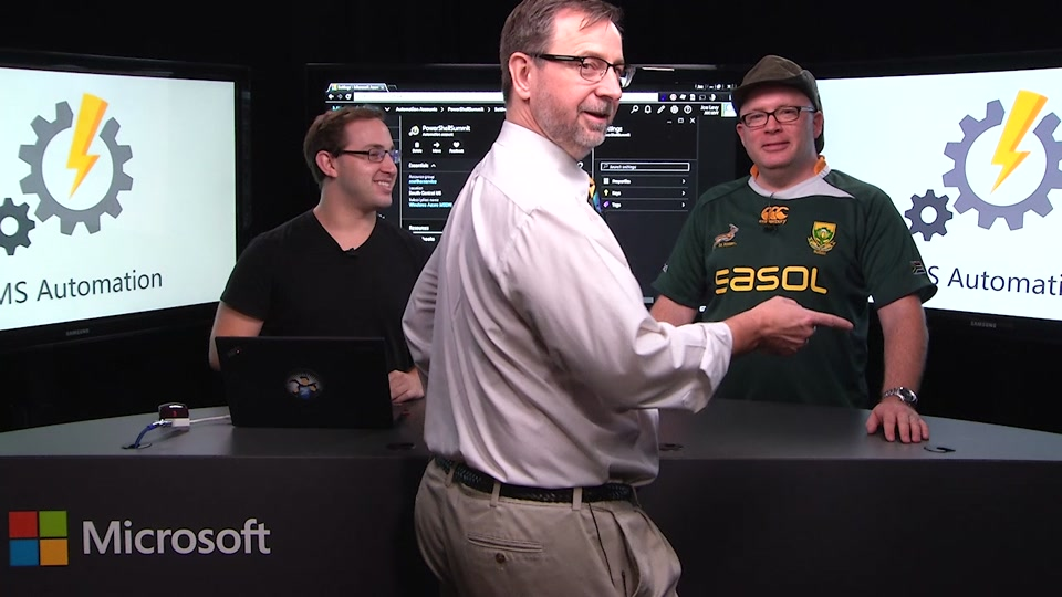 Automate everywhere with the new Azure Automation in OMS – with special guest Jeffrey Snover